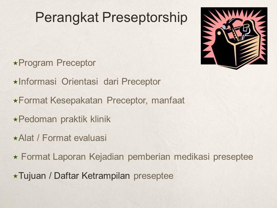 Perangkat Preseptorship