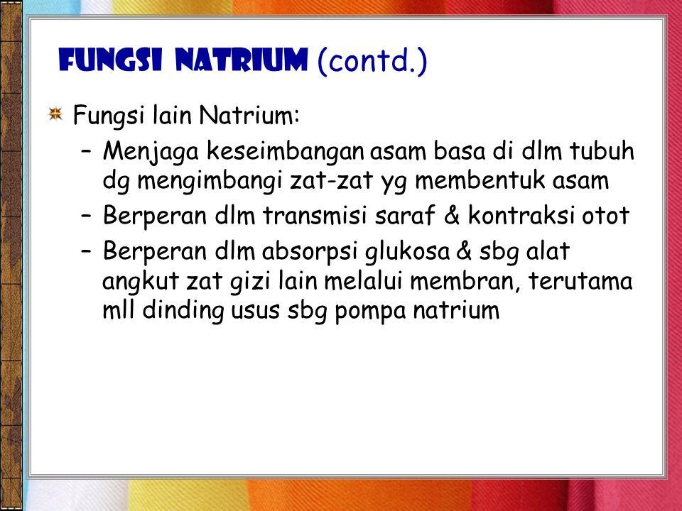 FUNGSI Natrium (contd.)