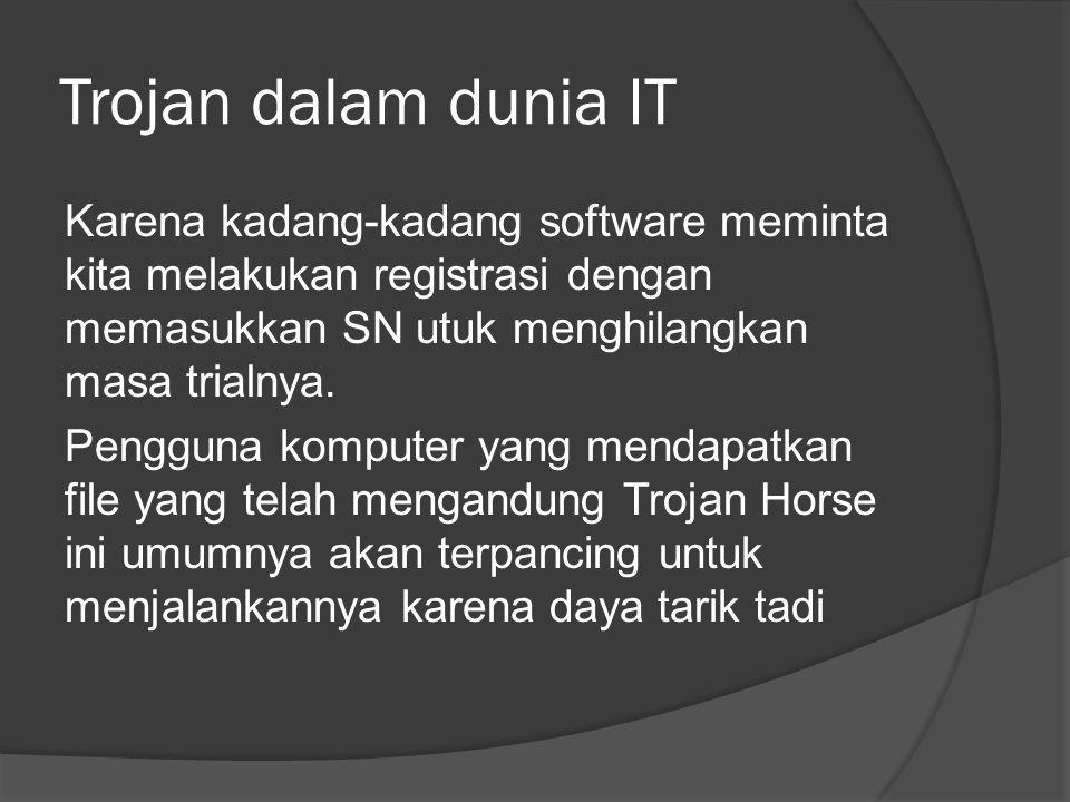 Trojan dalam dunia IT