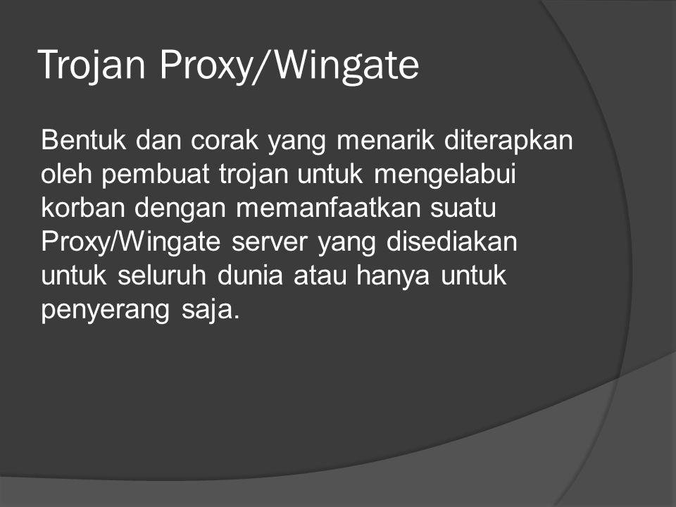 Trojan Proxy/Wingate