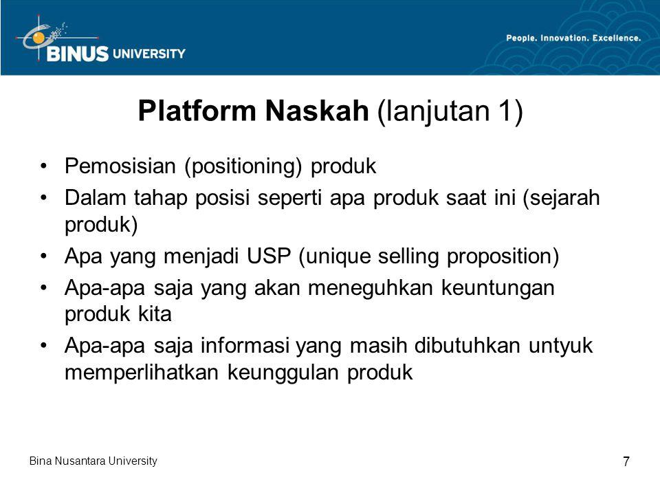 Platform Naskah (lanjutan 1)