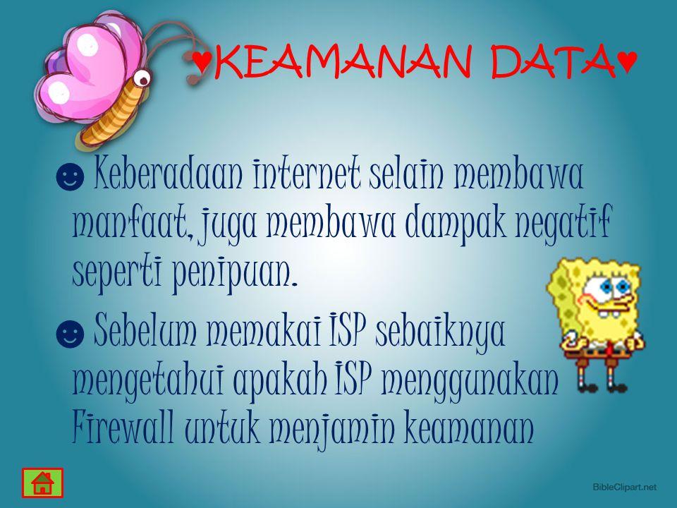 ♥KEAMANAN DATA♥