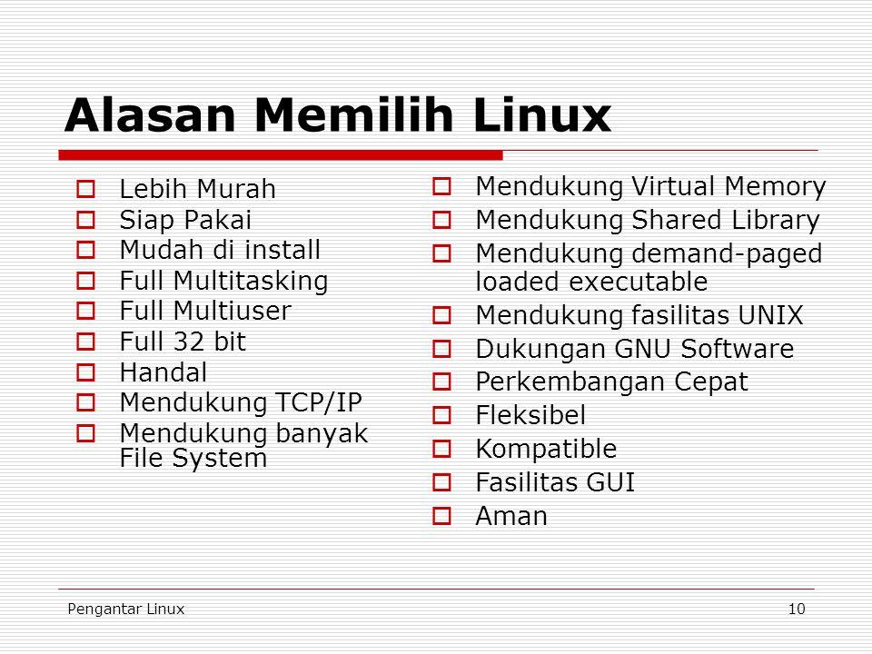 Alasan Memilih Linux Mendukung Virtual Memory Lebih Murah