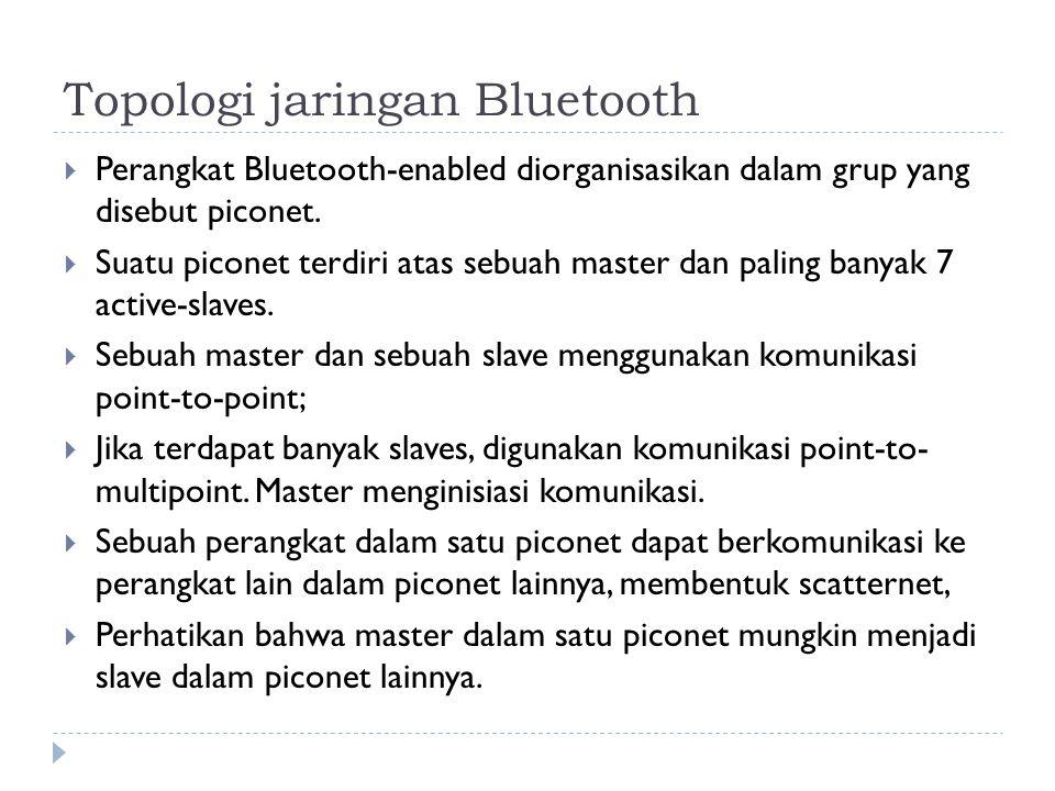 Topologi jaringan Bluetooth