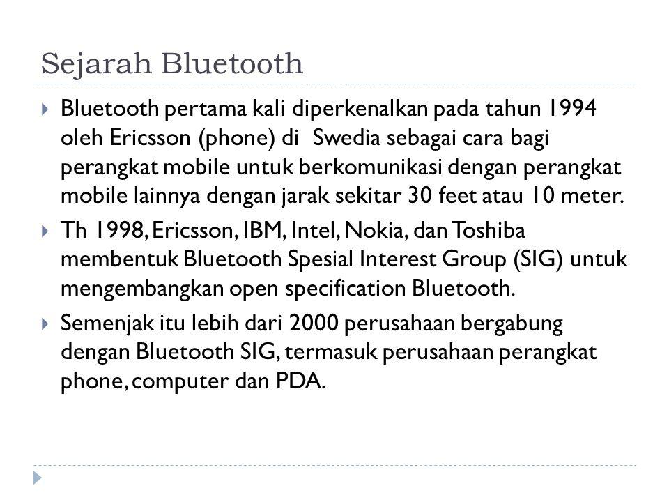 Sejarah Bluetooth