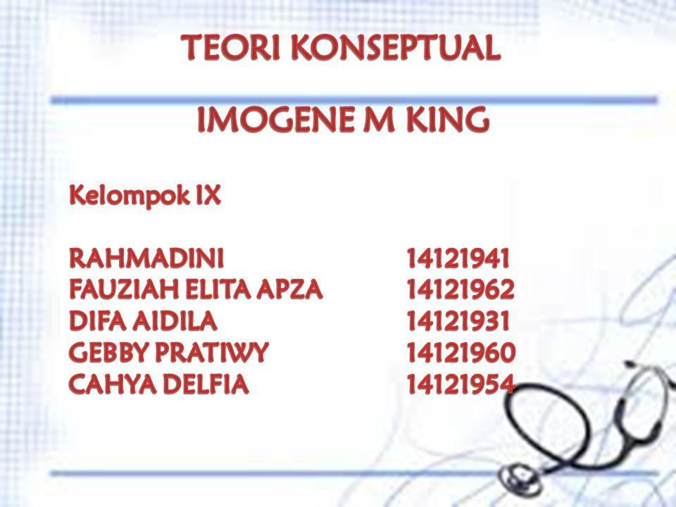 TEORI KONSEPTUAL IMOGENE M KING