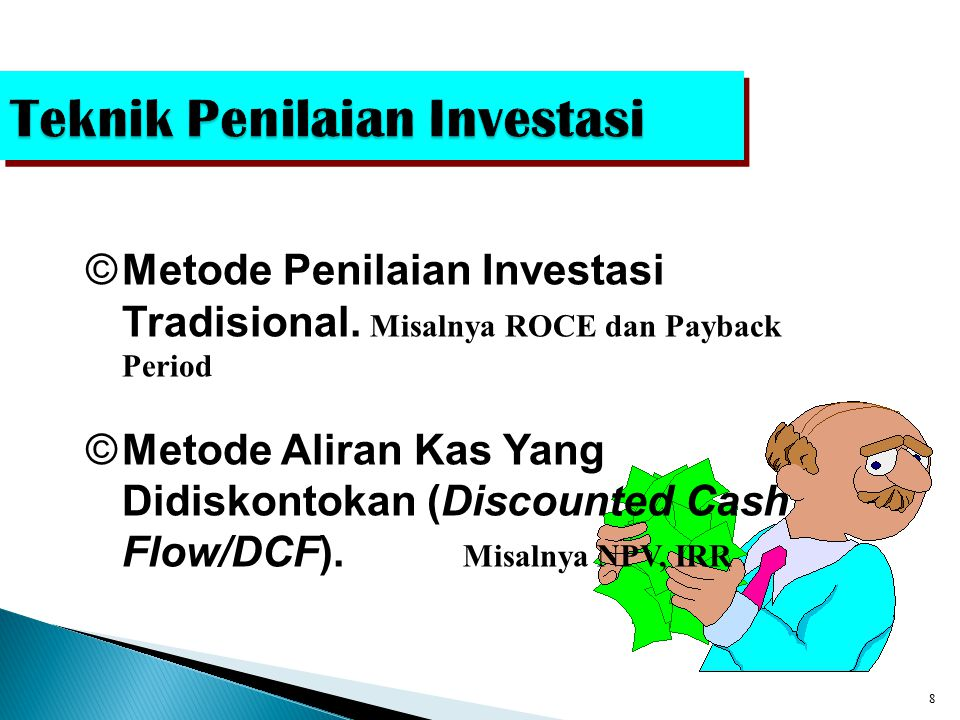Teknik Penilaian Investasi