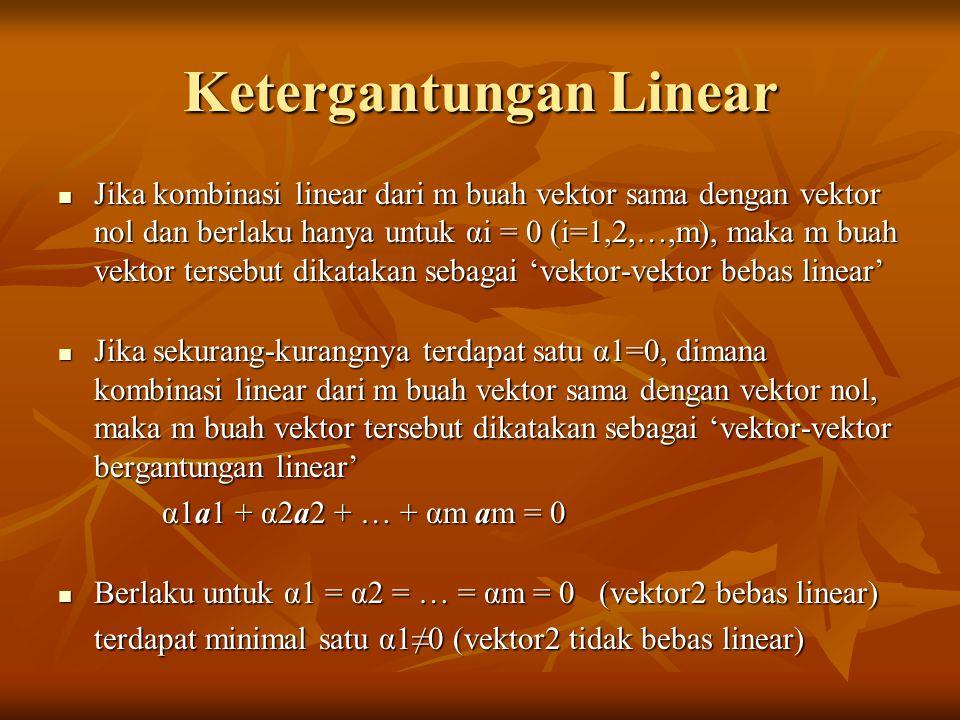 Ketergantungan Linear