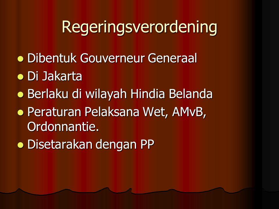 Regeringsverordening