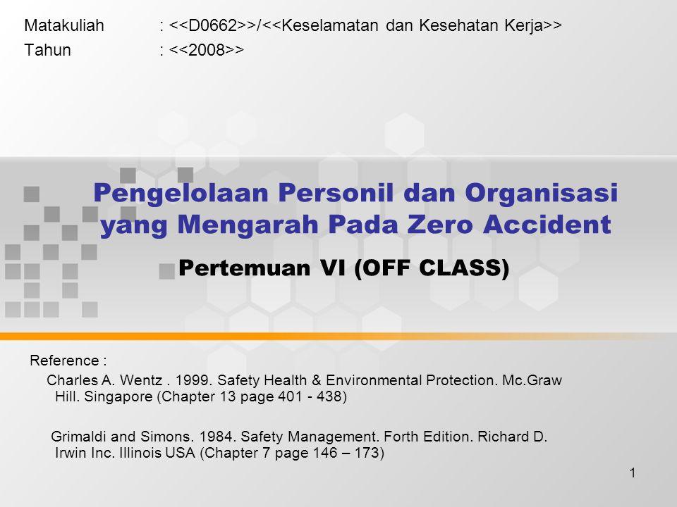 Pertemuan VI (OFF CLASS)