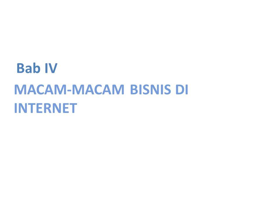 MACAM-MACAM BISNIS DI INTERNET