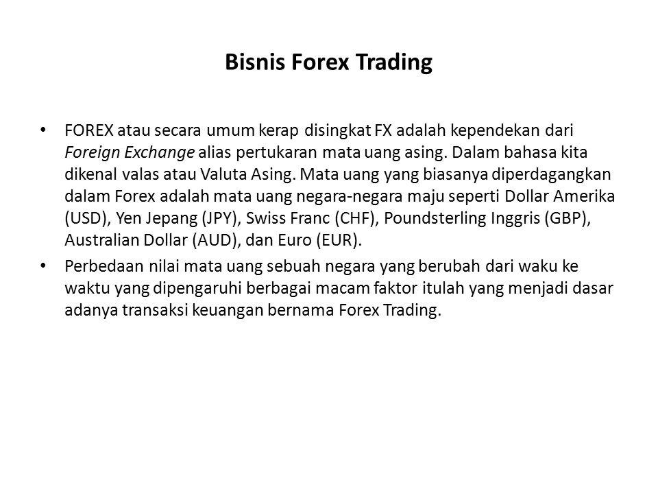 Bisnis Forex Trading