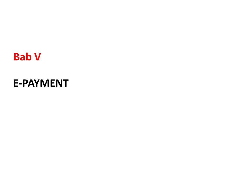 Bab V E-PAYMENT