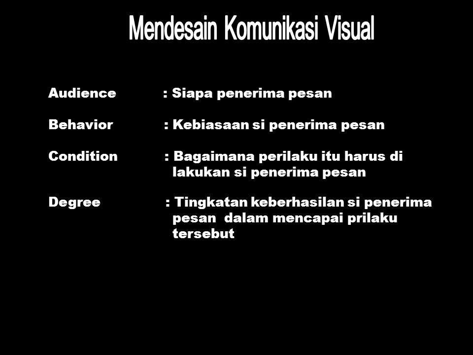 Mendesain Komunikasi Visual