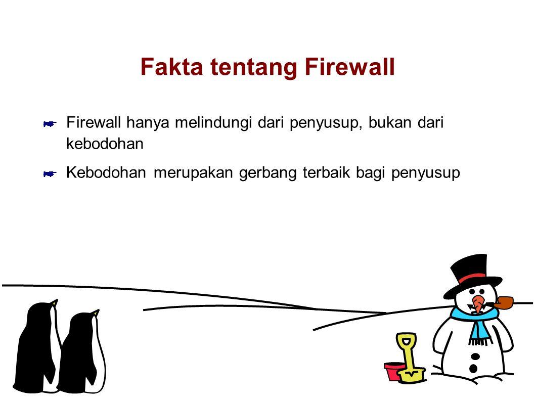Fakta tentang Firewall