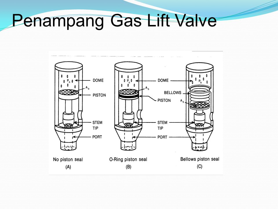 Penampang Gas Lift Valve