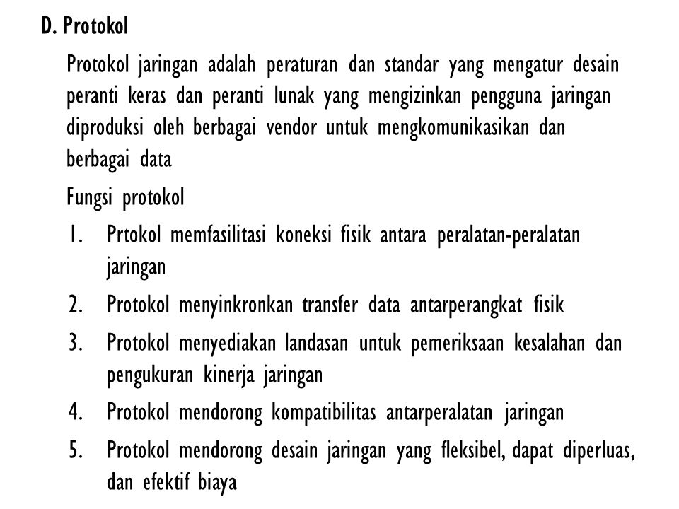 D. Protokol