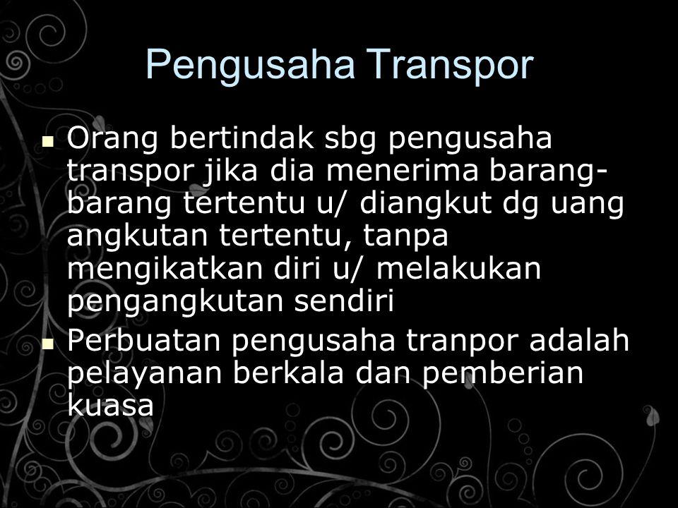 Pengusaha Transpor