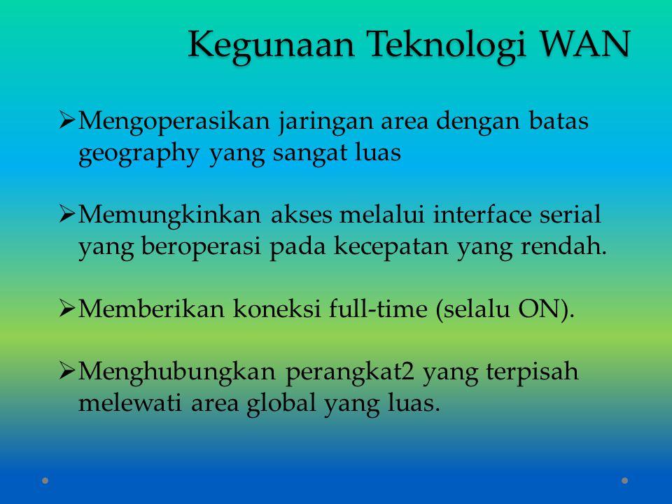 Kegunaan Teknologi WAN