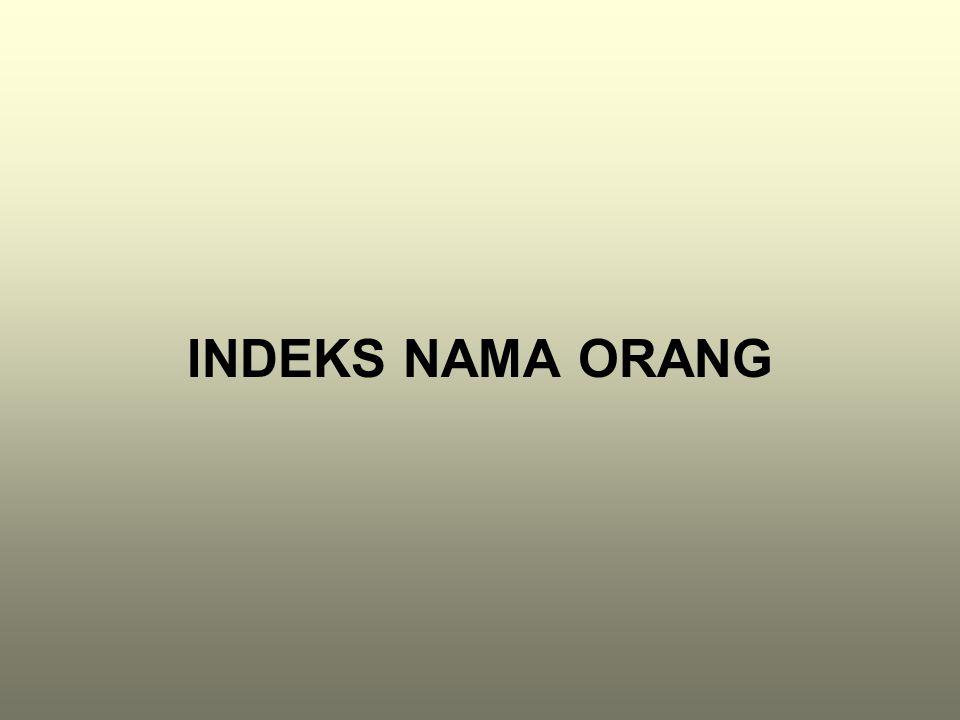 INDEKS NAMA ORANG