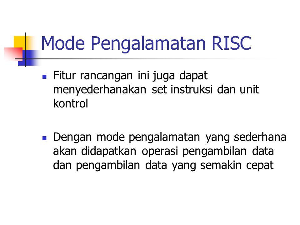 Mode Pengalamatan RISC
