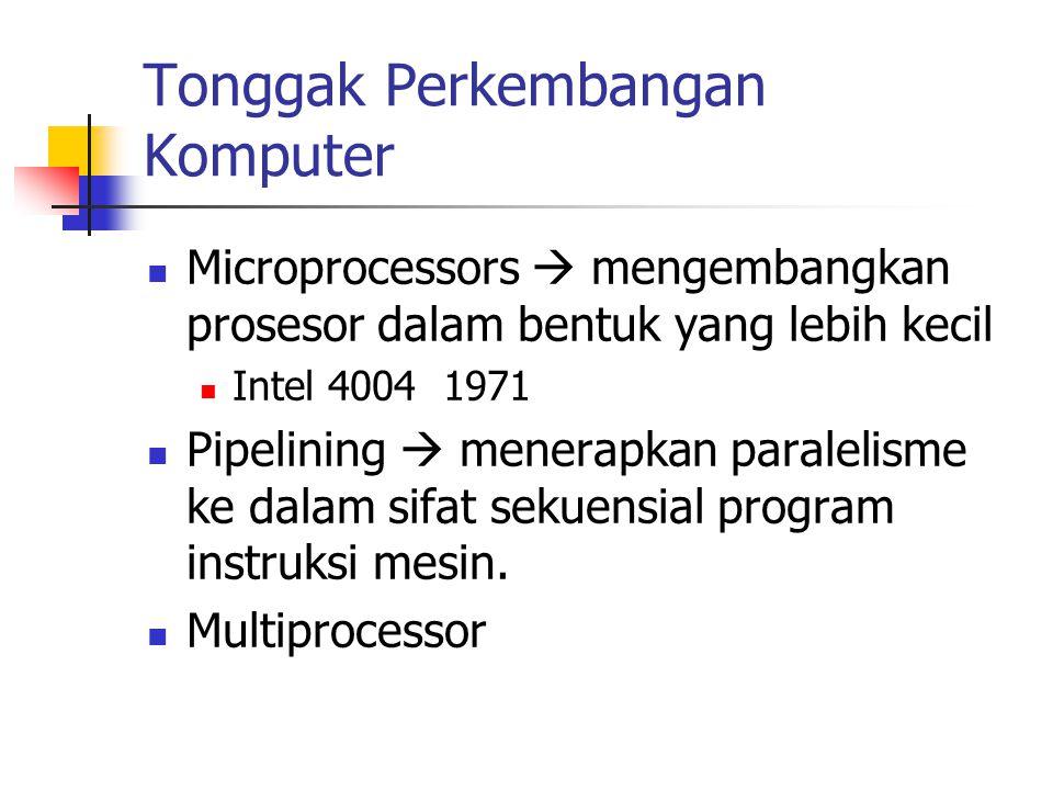 Tonggak Perkembangan Komputer
