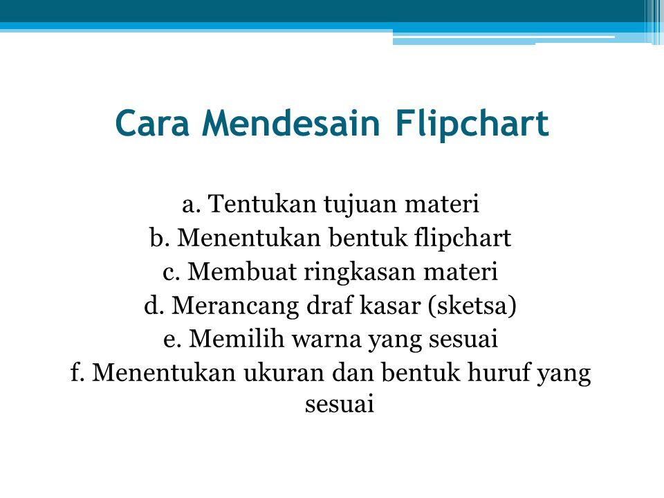 Cara Mendesain Flipchart