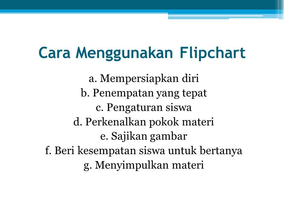 Cara Menggunakan Flipchart