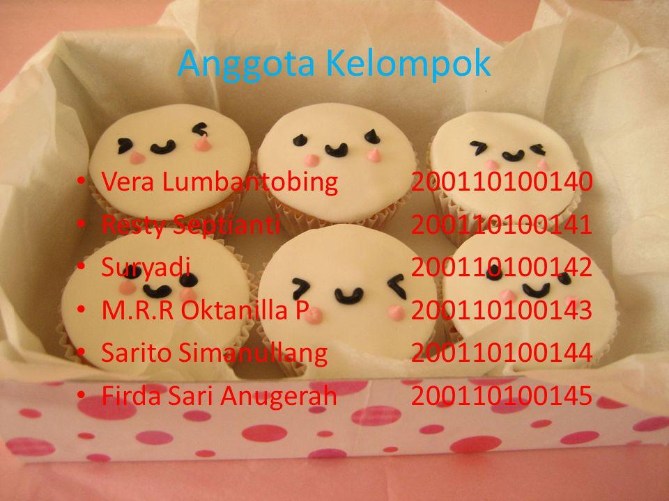 Anggota Kelompok Vera Lumbantobing 200110100140