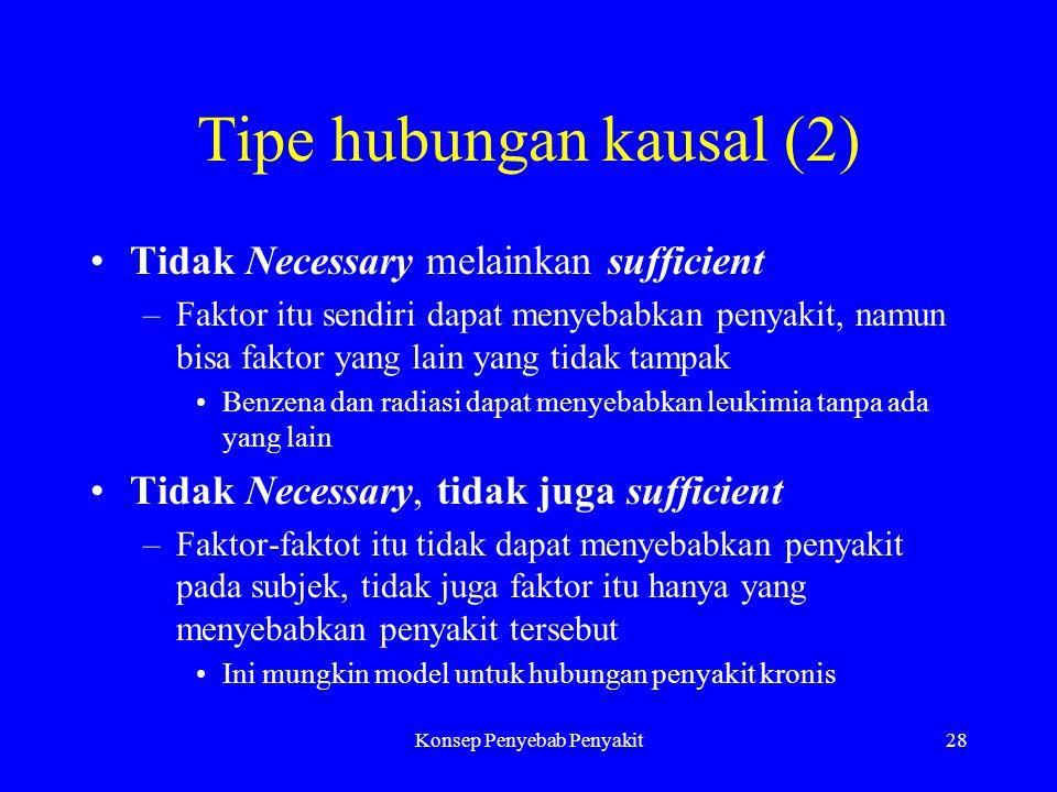 Tipe hubungan kausal (2)