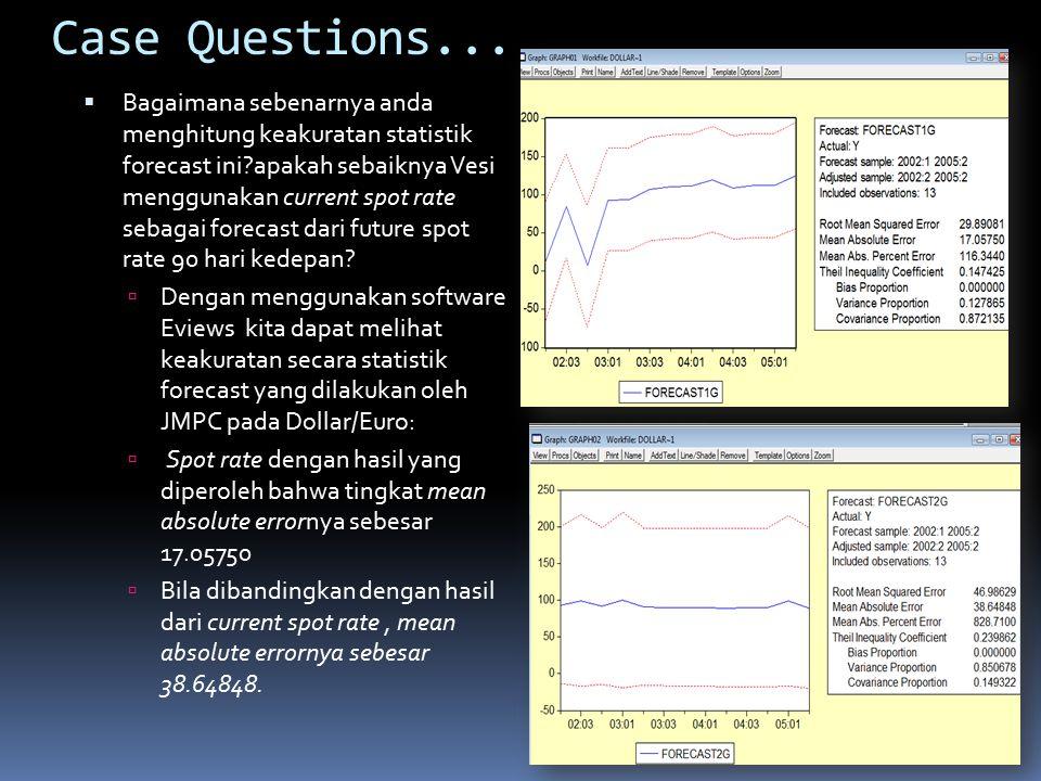 Case Questions...