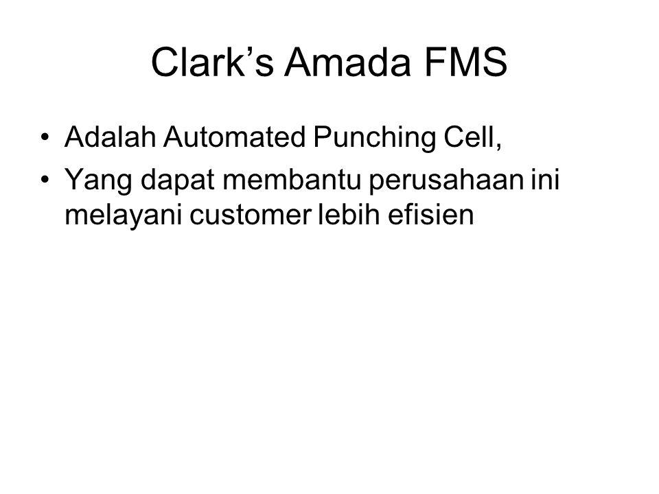 Clark's Amada FMS Adalah Automated Punching Cell,