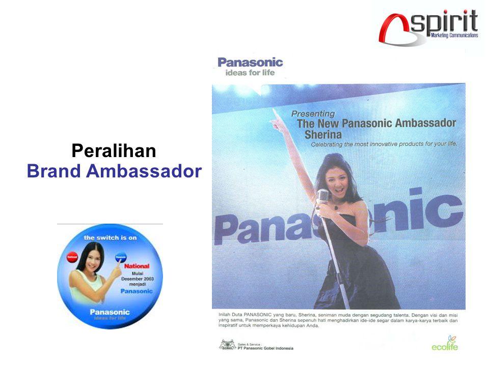 Peralihan Brand Ambassador