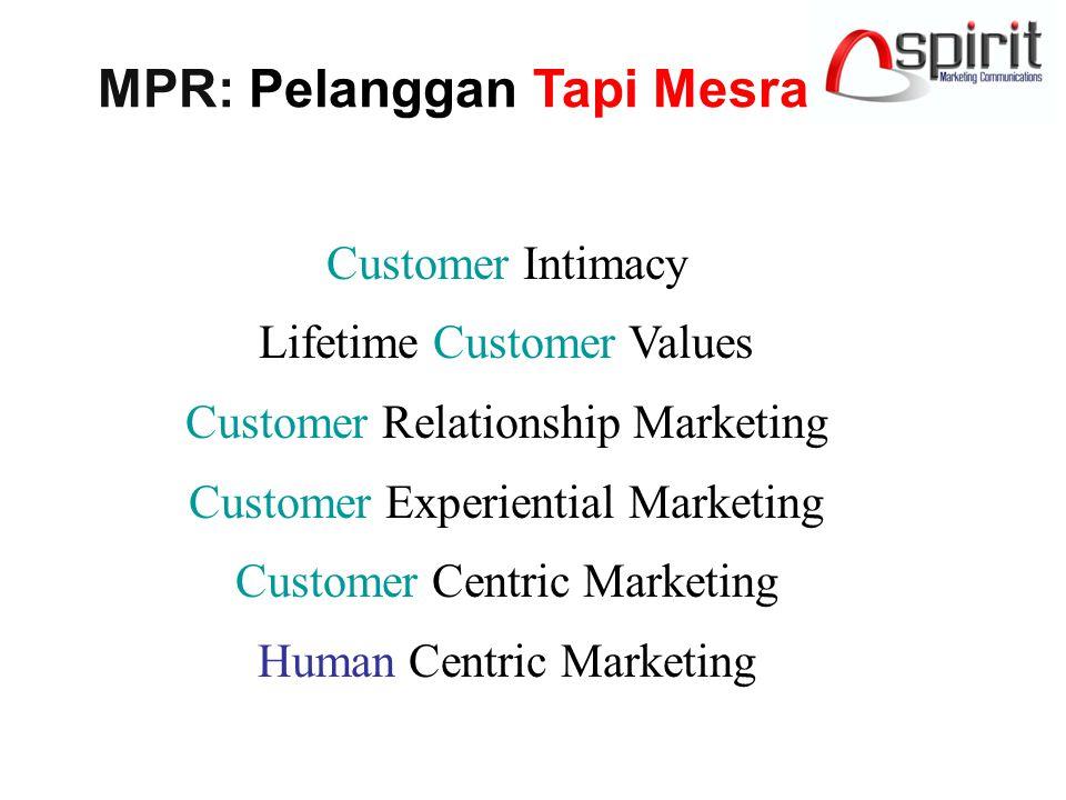 MPR: Pelanggan Tapi Mesra