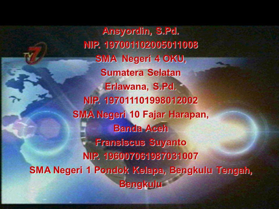SMA Negeri 10 Fajar Harapan, Banda Aceh Fransiscus Suyanto