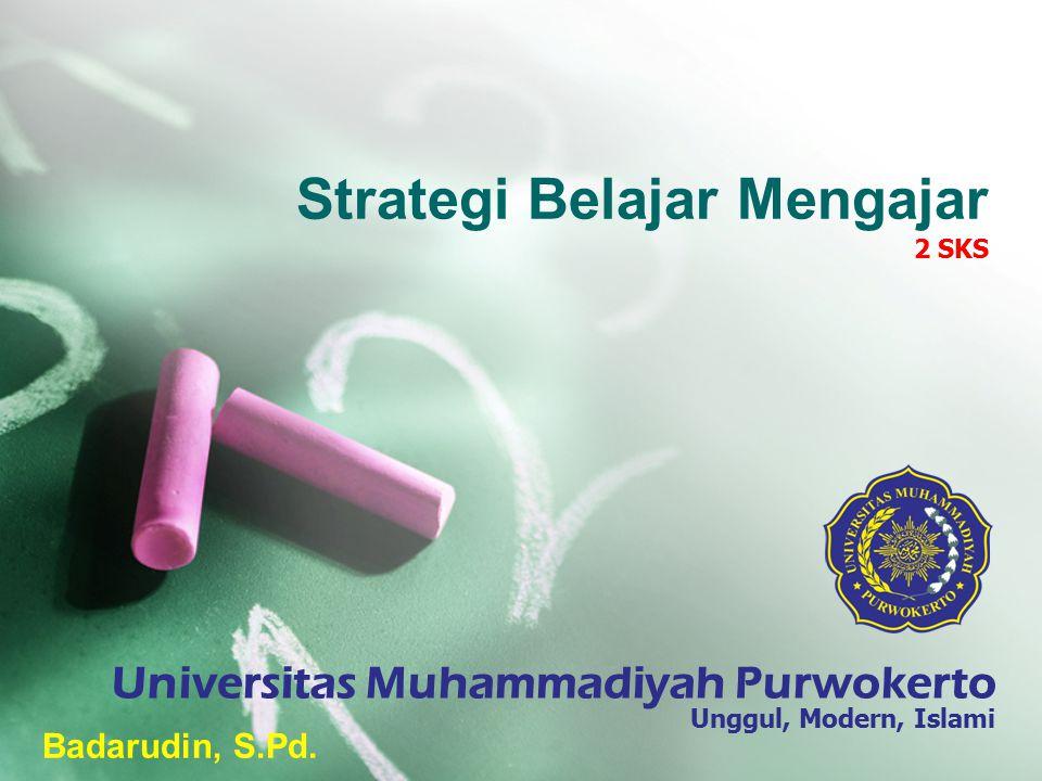 Strategi Belajar Mengajar 2 SKS