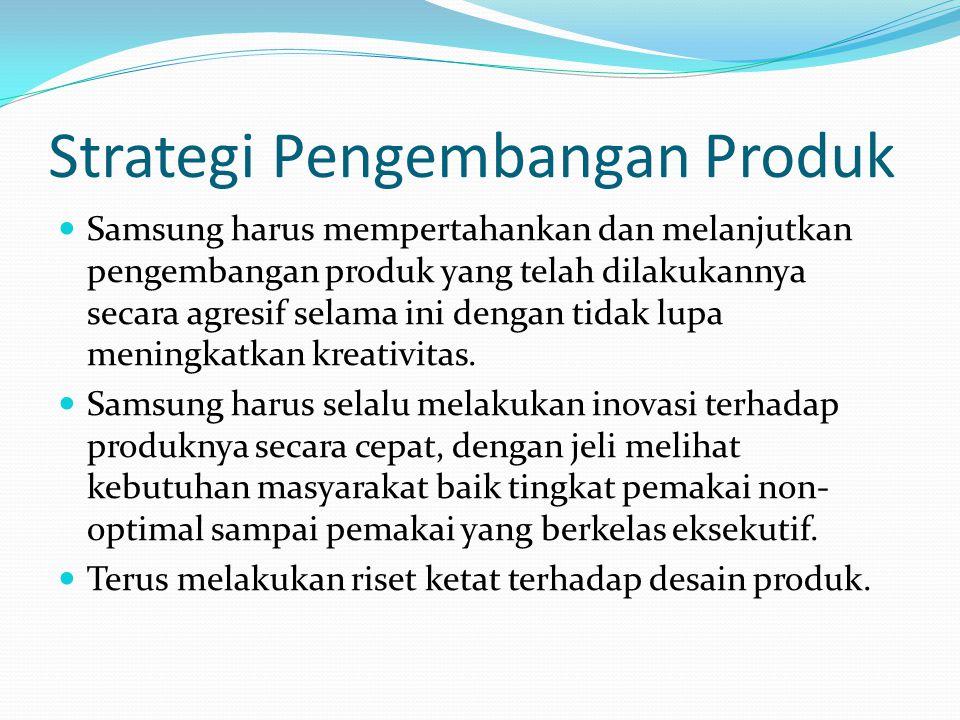 Strategi Pengembangan Produk