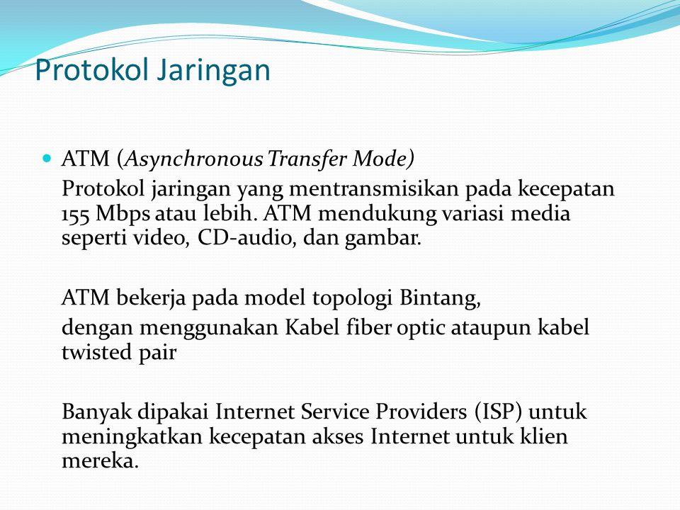 Protokol Jaringan ATM (Asynchronous Transfer Mode)