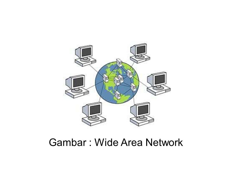 Gambar : Wide Area Network