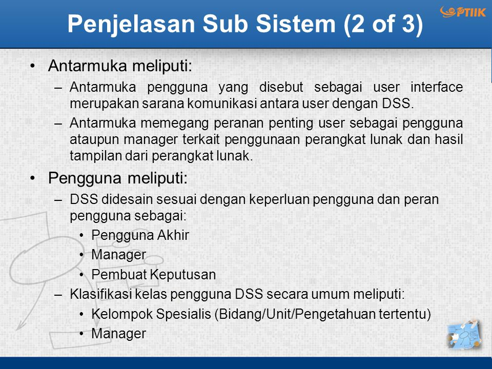 Penjelasan Sub Sistem (2 of 3)