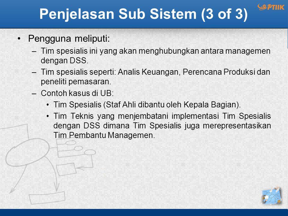 Penjelasan Sub Sistem (3 of 3)