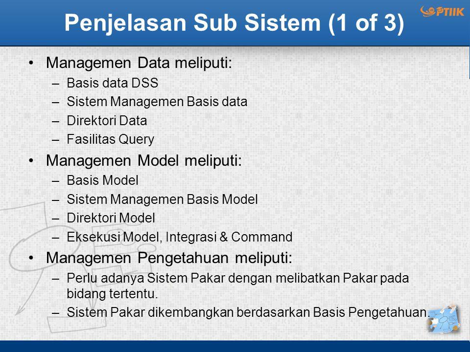 Penjelasan Sub Sistem (1 of 3)