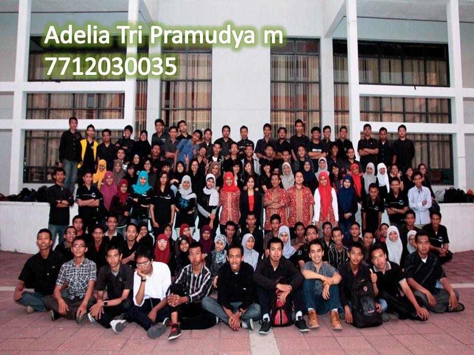 Adelia Tri Pramudya m 7712030035