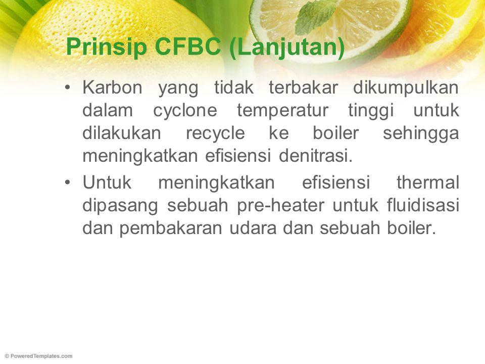 Prinsip CFBC (Lanjutan)