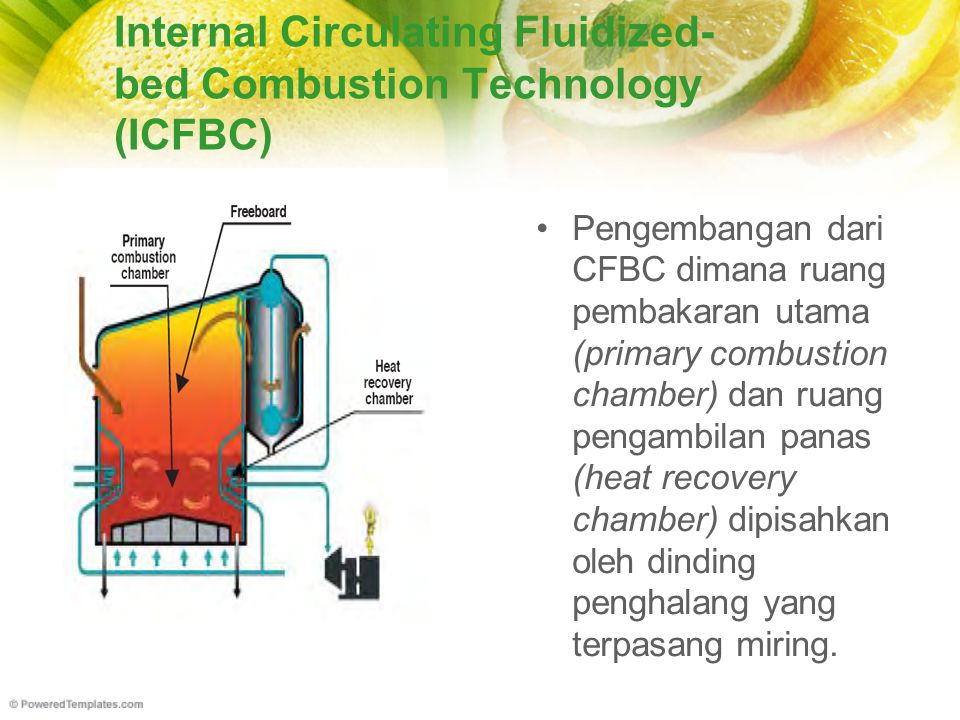 Internal Circulating Fluidized-bed Combustion Technology (ICFBC)
