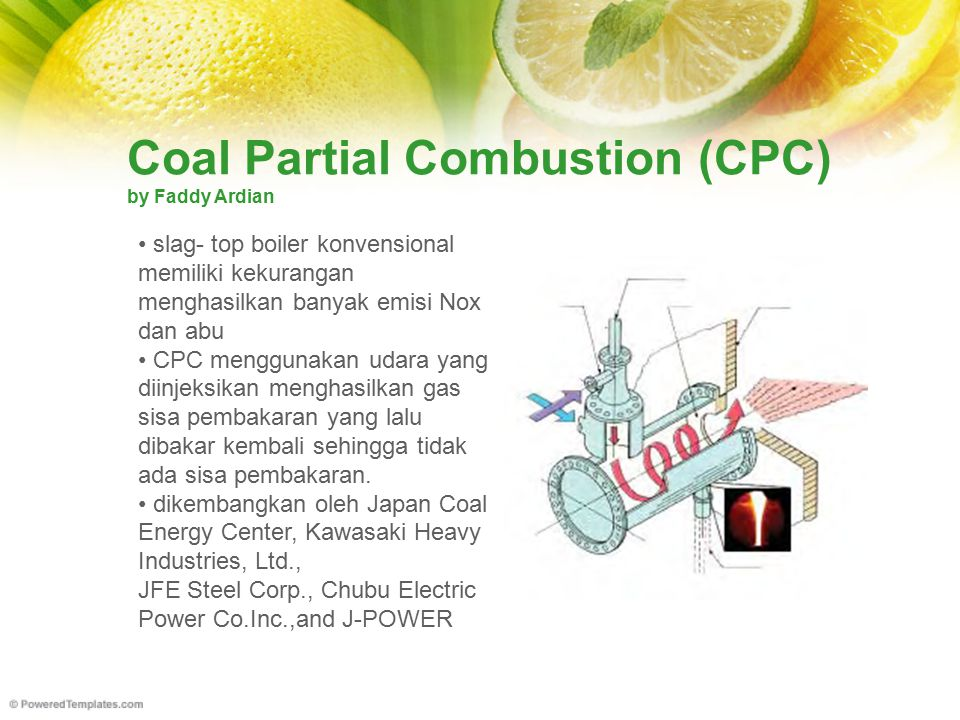 Coal Partial Combustion (CPC) by Faddy Ardian