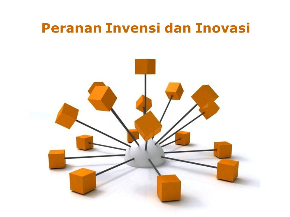 Peranan Invensi dan Inovasi