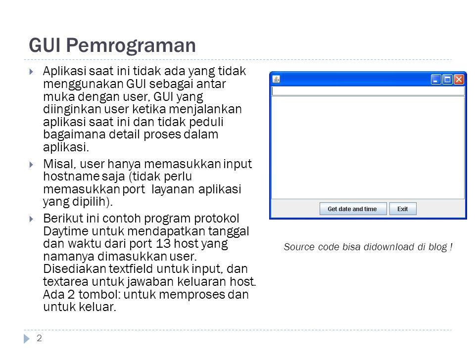 GUI Pemrograman
