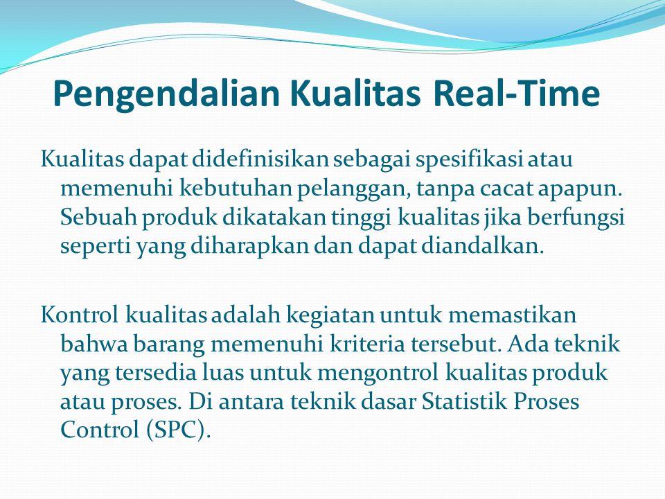 Pengendalian Kualitas Real-Time
