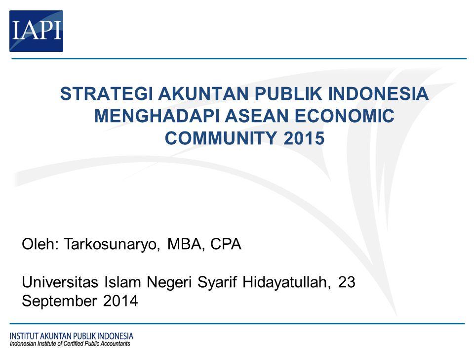 Agenda Tentang IAPI Akuntan Publik dan Kantor Akuntan Publik
